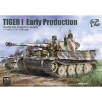 Tiger I Early Production Sd.Kfz.181 Pz.Kpfw.VI Ausf.E (1:35)
