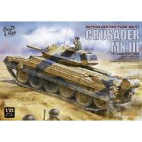 British Cruiser Tank Mk.VI Crusader Mk.III (1:35)
