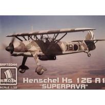 "Hs 126 A-1 ""Superpava"" Legion Condor (1:72)"