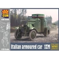 Italian Armoured Car 1ZM (1:35)