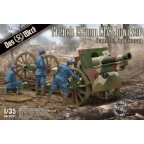 French 155mm C17S howitzer France, USA, Spain, Germany (1:35)