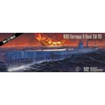 WWI German U-Boot SM 09 (1:72)