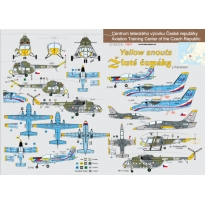 """Aviation Training Centre of the Czech Republic """"Yellow Snouts"""" (1:72)"""