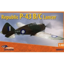Dora Wings 48034 Republic P-43B/C Lancer, reconnaissance (1:48)