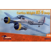 Dora Wings 48043 Curtiss-Wright AT-9 Jeep (1:48)