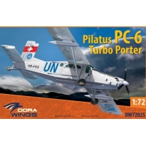 Dora Wings 72025 Pilatus PC-6 Turbo Porter (1:72)