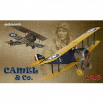 Eduard 11151 Camel & Co.(Sopwith F1 Camel -Dual Combo) - Limited Edition (1:48)