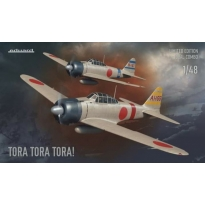 Eduard 11155  Tora Tora Tora! (A6M2 Zero type 21 - Dual Combo) - Limited Edition (1:48)