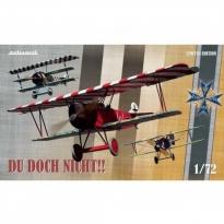 Eduard 2135 Du doch nicht!! - Ernst Udet's (Albatros D.V + Fokker Dr.I + Fok.D.VII) - Limited Editon (1:72)