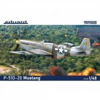 Eduard 84176 P-51D-20 Mustang - Weekend Edition (1:48)