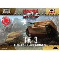 First to Fight TK-3 Lekki czołg rozpoznawczy (1:72)
