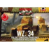 First to Fight Polski samochód pancerny WZ.34 (1:72)