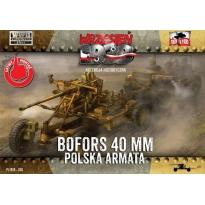 First to Fight Bofors 40 mm Polska Armata (1:72)