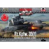 First to Fight Pz.Kpfw.35 (t) Niemiecki czołg lekki (1:72)