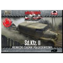 First to Fight Sd.Kfz 11 Niemiecki ciągnik półgąsienicowy (1:72)