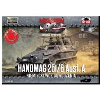First to Fight Hanomag 251/6 Ausf.A Niemiecki wóz dowodzenia (1:72)