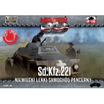 First to Fight Sd.Kfz.221 - Niemiecki Lekki Samochód Pancerny (1:72)