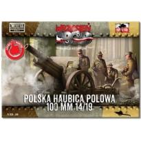 First to Fight Polska Haubica Polowa 100 mm wz.14/19 (1:72)