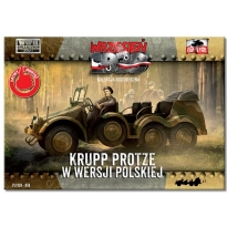 First to Fight Krupp Protze w wersji polskiej (1:72)