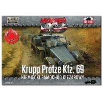 First to Fight Krupp Protze Kfz. 69 Niemiecki samochód ciężarowy (1:72)