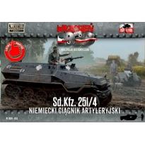 First to Fight Sd.Kfz.251/4 Niiemiecki ciągnik artyleryjski (1:72)