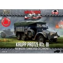 First to Fight Niemiecki samochod ciężarowy Krupp Protze Kfz.81 (1:72)
