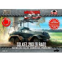 First to Fight Sd.Kfz. 263 (6 Rad) Niemiecki ciężki samochód pancerny (1:72)