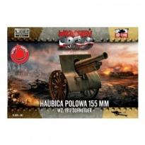 First to Fight Haubica polowa 155 mm wz.1917 Schneider (1:72)