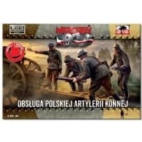 First to Fight Obsługa Polskiej Artylerii Konne (1:72)