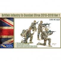 British Infantry In Combat Circa 2010~2012 Set 1 (1:35)