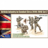 British Infantry In Combat Circa 2010~2012 Set 2 (1:35)