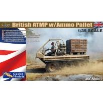 British ATMP w/ Ammo Palet (1:35)