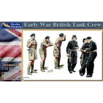 Early War British Tank Crew (1:35)