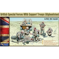 British Special Forces with Support Troops (Afghanistan) (1:35)