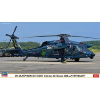 """UH-60J(SP) Rescue Hawk """"Chitose Air Rescue 60th ANNIVERSARY'' - Limited Edition (1:72)"""