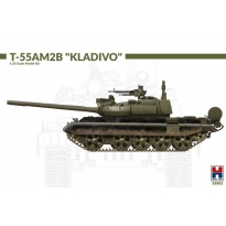 "Hobby 2000 35002 T-55AM2B ""Kladivo"" (w/bonus 4 painting and marking ) - Limited Edition (1:35)"