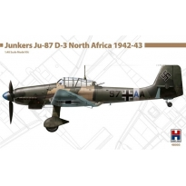 Hobby 2000 48003 Junkers Ju-87 D-3 North Africa 1942-43 - Limited Edition (1:48)