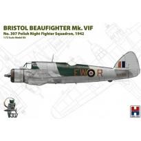 "Hobby 2000 72003 Bristol Beaufighter Mk.VIF ""No.307 Polish Night Fighter Squadron, 1942"" - Limited Edition (1:72)"