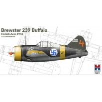 Hobby 2000 72011 Brewster 239B Buffalo Finnish Aces 1942 - Limited Edition (1:72)