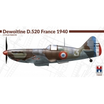 Hobby 2000 72025 Dewoitine D.520 France 1940 - Limited Edition (1:72)