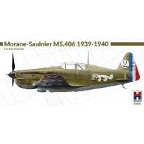 Hobby 2000 72031 Morane-Saulnier MS.406 1939-1940 - Limited Edition (1:72)