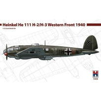Hobby 2000 72048 Heinkel He 111 H-2/H-3 Western Front 1940 - Limited Edition (1:72)