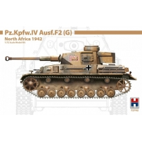 Hobby 2000 72702 Pz.Kpfw.IV Ausf.F2 (G) North Africa 1942 - Limited Edition (1:72)