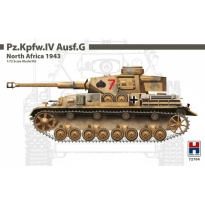 Hobby 2000 72704 Pz.Kpfw.IV Ausf.G North Africa 1943 - Limited Edition (1:72)