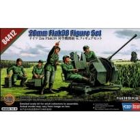 German 20mm Flak38 Figure Set 20mm Flak38 not included (1:35)