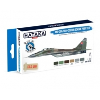 BLUE LINE – MiG-29A/UB 4-colour scheme paint set (6 x 17 ml)