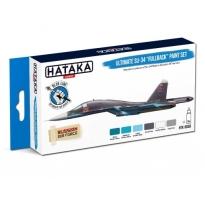 """BLUE LINE – Ultimate Su-34 """"Fullback"""" paint set (6 x 17 ml)"""