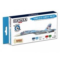 BLUE LINE – Ultimate Su-33 Flanker-D paint set (6 x 17 ml)