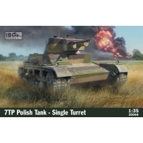 IBG 35069 7TP Polish Tank - Single Turret (1:35)