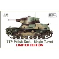 IBG 35074L 7TP Polish Tank - Single Turret - Limited Edition (1:35)